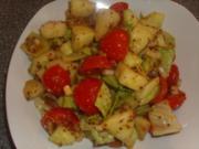 Gemischter Salat mit Honigmelone - Rezept