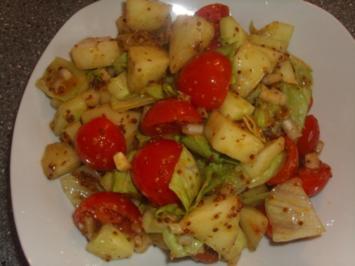 Rezept: Gemischter Salat mit Honigmelone