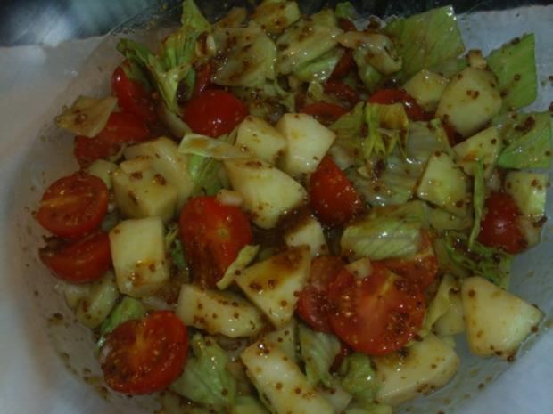 Gemischter Salat mit Honigmelone - Rezept - Bild Nr. 3