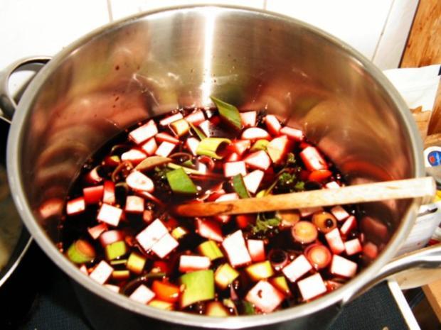 Mein Sauerbraten mit Rotwein - Rezept