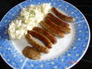 Mama`s Sauerkrautsalat mit Nürnberger - Rezept