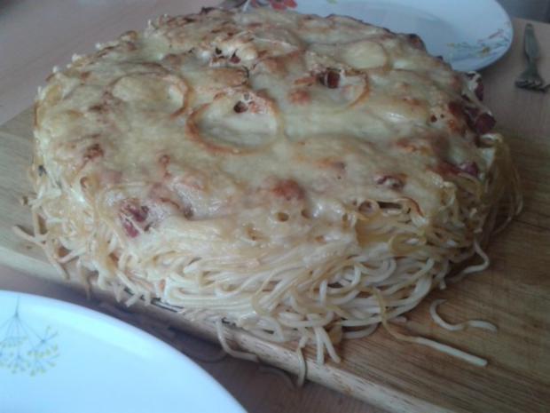 Spaghettitorte - Rezept