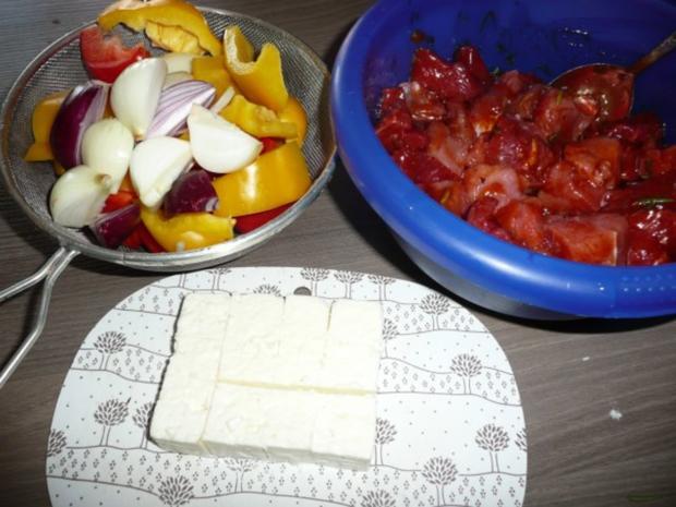 Grillparty : Hirtenspieße & diverse Salate ! - Rezept - Bild Nr. 3