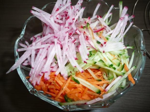 Grillparty : Hirtenspieße & diverse Salate ! - Rezept - Bild Nr. 6