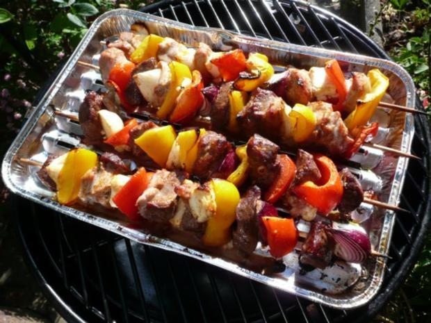 Grillparty : Hirtenspieße & diverse Salate ! - Rezept - Bild Nr. 8