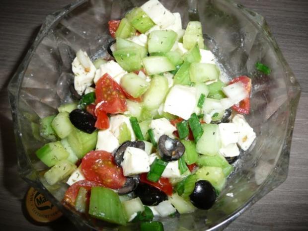 Grillparty : Hirtenspieße & diverse Salate ! - Rezept - Bild Nr. 9
