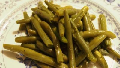 Grüne Bohnen - Rezept