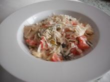 Pasta mit Spargel und Limettensoße - Rezept