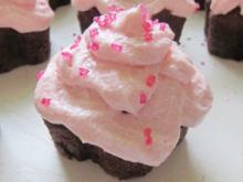 Backen: Schoko-Muffins mit Buttercreme - Rezept
