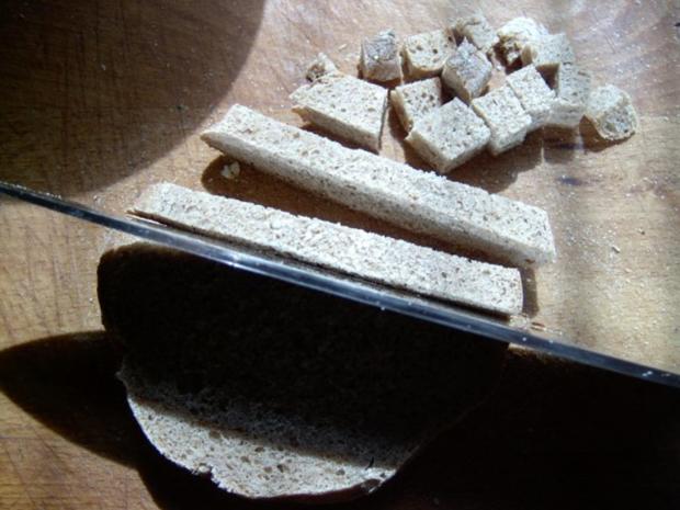 Salat- und Suppencroutons - Rezept - Bild Nr. 3