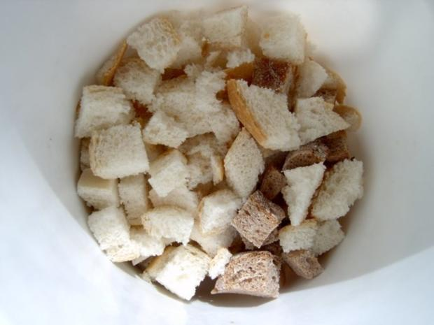 Salat- und Suppencroutons - Rezept - Bild Nr. 4
