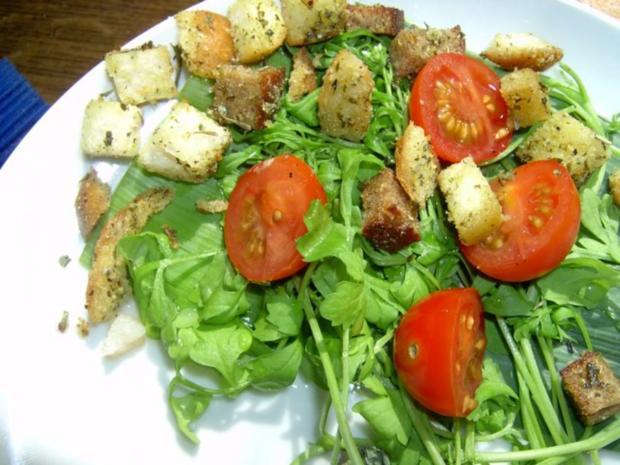 Salat- und Suppencroutons - Rezept - Bild Nr. 2