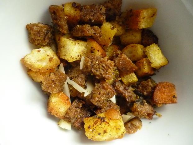 Salat- und Suppencroutons - Rezept - Bild Nr. 7