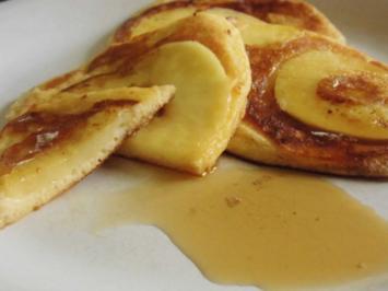 Apfelpfannkuchen - Rezept