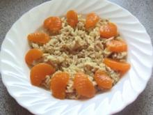 Salat: Lauwarmer Reis mit Hähnchenbrust, fruchtig - Rezept