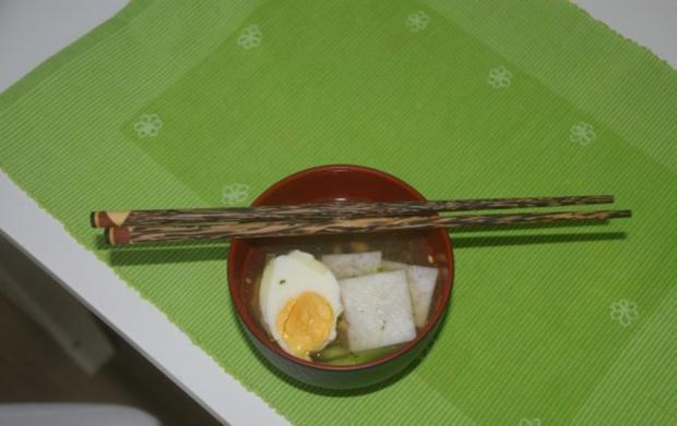 Japanische Nori-Ei Suppe - Rezept - Bild Nr. 2