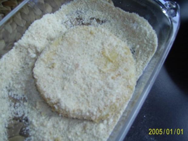 Ohne Fleisch: panierte Sellerie-Schnitzel & Rucolasalat - Rezept