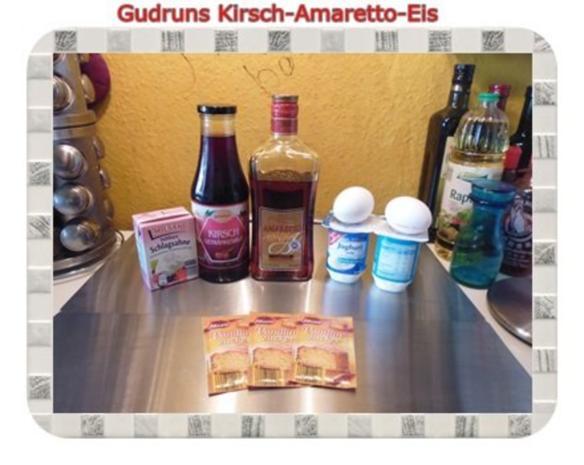 Eis: Kirsch-Amaretto-Eis - Rezept - Bild Nr. 2
