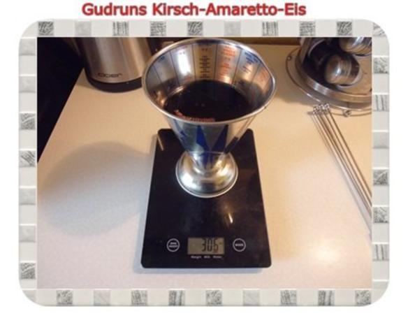 Eis: Kirsch-Amaretto-Eis - Rezept - Bild Nr. 3