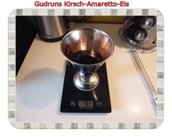 Eis: Kirsch-Amaretto-Eis - Rezept - Bild Nr. 4