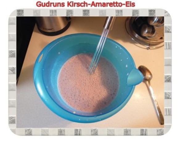 Eis: Kirsch-Amaretto-Eis - Rezept - Bild Nr. 6