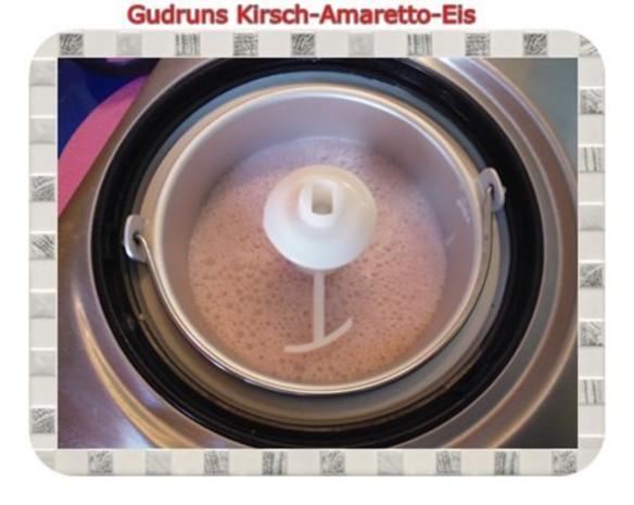 Eis: Kirsch-Amaretto-Eis - Rezept - Bild Nr. 7