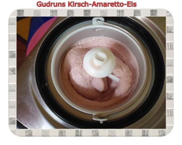 Eis: Kirsch-Amaretto-Eis - Rezept - Bild Nr. 11