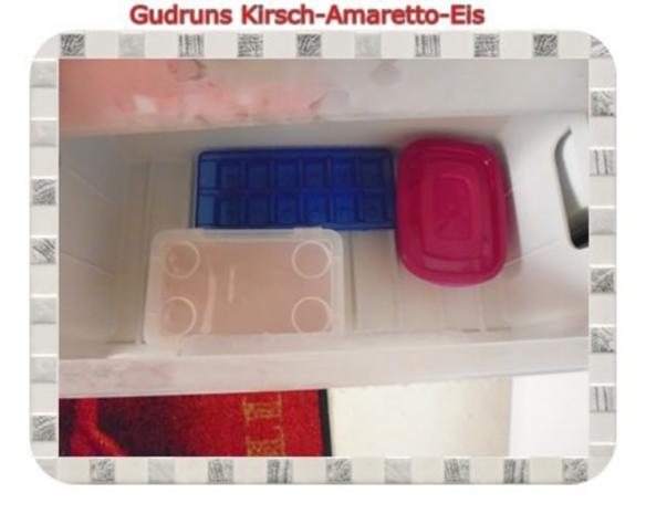 Eis: Kirsch-Amaretto-Eis - Rezept - Bild Nr. 12
