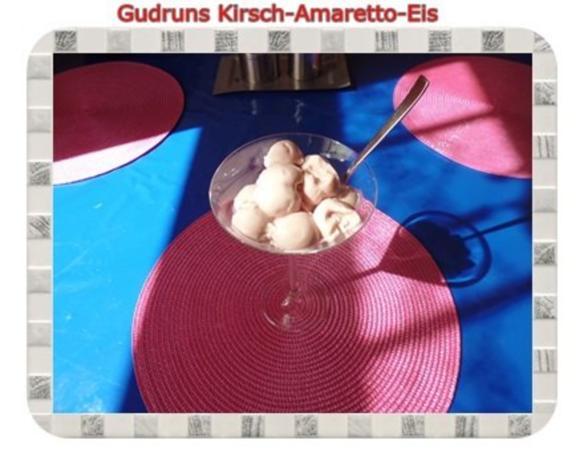 Eis: Kirsch-Amaretto-Eis - Rezept - Bild Nr. 13