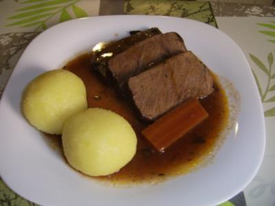 Burgunderbraten flambiert - Rezept