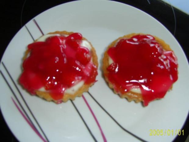 Kuchen: Erdbeer-Torteletts für das Kaffeekränzchen - Rezept - Bild Nr. 7
