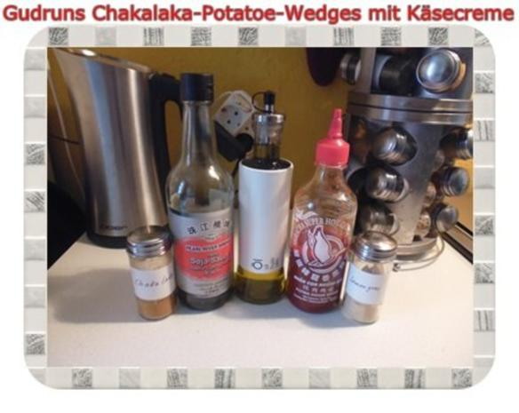 Kartoffeln: Chakalaka Potatoe-Wedges mit Käsedipp - Rezept - Bild Nr. 4