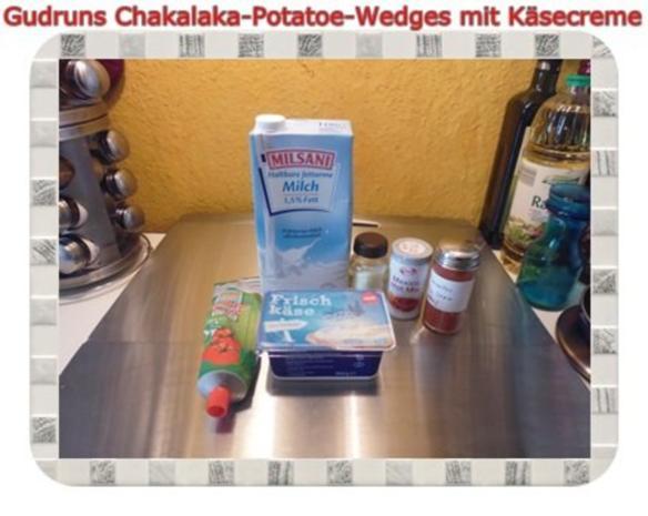Kartoffeln: Chakalaka Potatoe-Wedges mit Käsedipp - Rezept - Bild Nr. 9