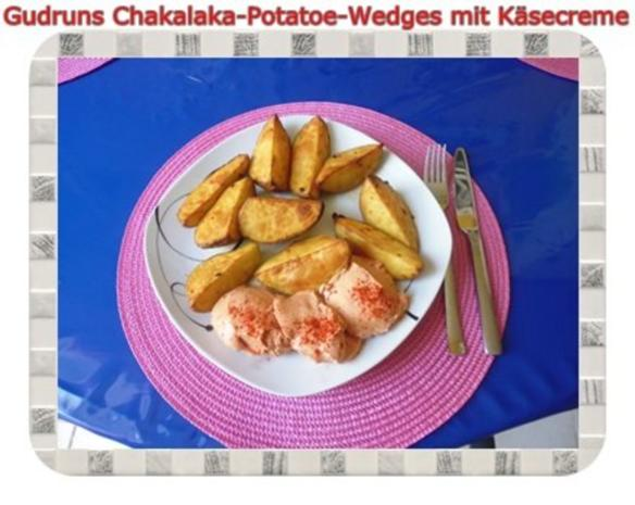 Kartoffeln: Chakalaka Potatoe-Wedges mit Käsedipp - Rezept - Bild Nr. 13