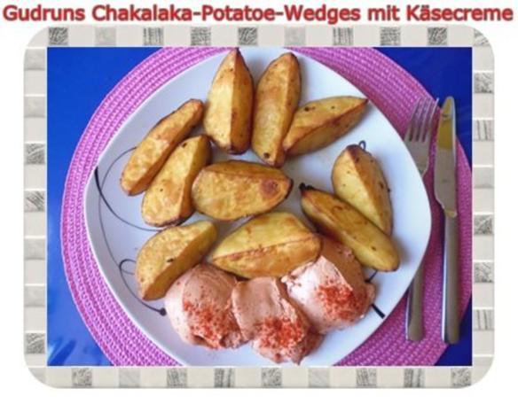 Kartoffeln: Chakalaka Potatoe-Wedges mit Käsedipp - Rezept - Bild Nr. 14
