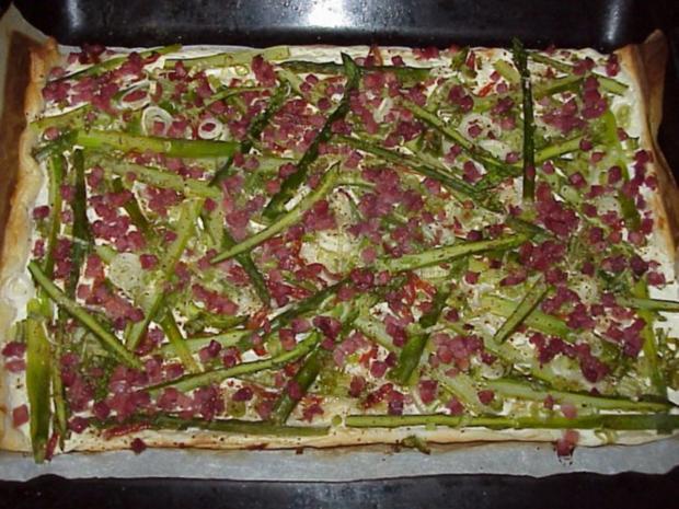 Grüne Spargel-Pizza - Rezept - Bild Nr. 2