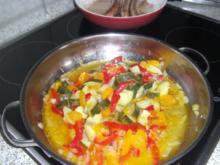 süsse Zucchinipfanne - Rezept
