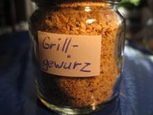 Gewürze: Mischung für Grillgut  - Rezept