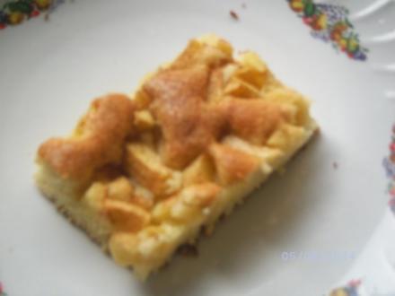 Blitzkuchen mit Äpfeln - Rezept
