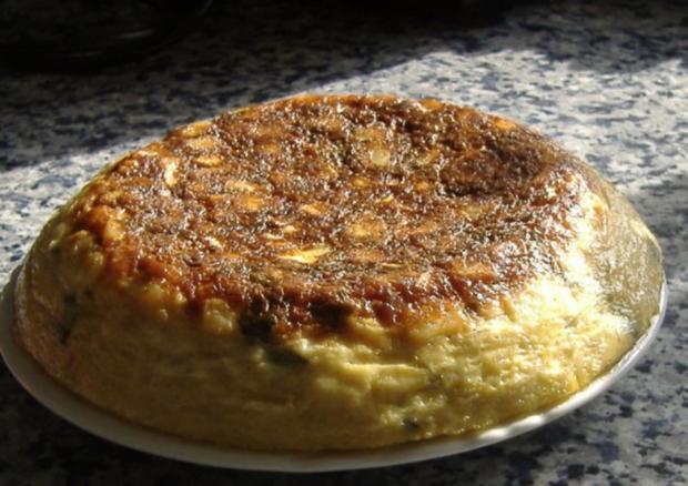 Tortilla mit Spargel,Kartoffeln und Basilikum - Rezept - Bild Nr. 6