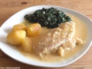Hähnchenbrustfilet mit Weißweinsoße - Rezept