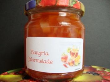 Sangria Marmelade - Rezept