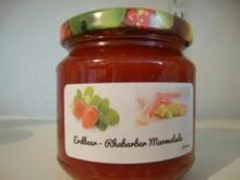 Erdbeer - Rhabarber Marmelade - Rezept - Bild Nr. 331