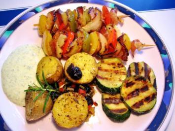 Zucchini vom Grill - Rezept
