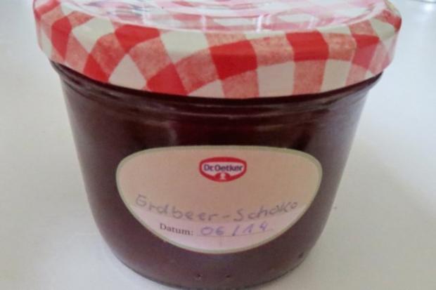 Einmachen: Erdbeer-Schokoladen-Marmelade - Rezept - Bild Nr. 2