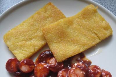 Beilage: Polenta-Schnitten - Rezept