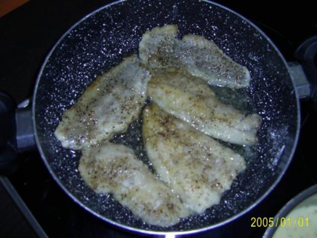 Fisch: Dorschfilet mit Kartoffelecken.... - Rezept - Bild Nr. 3