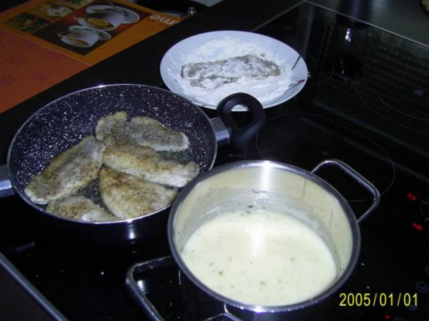 Fisch: Dorschfilet mit Kartoffelecken.... - Rezept - Bild Nr. 6