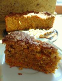 Karotten-Haselnuss-Kuchen - Rezept