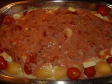 Gnocchi mit Tomaten und Mozzarella - Rezept